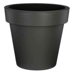 """Pot de Fleurs Plastique """"Felicia"""" 40cm Gris """""""