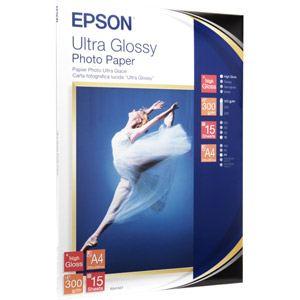 Epson 15 feuilles de papier de photo Ultra Glacé 300g/m² (A4)