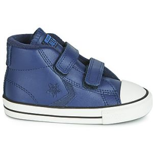 Converse Chaussures enfant STAR PLAYER 2V ASTEROID LEATHER HI bleu - Taille 20,21,22,23,24,25,26