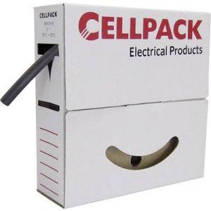 Cellpack Gaine thermorétractable sans colle 3:1 204313 vert-jaune Ø avant retreint 24 mm 4 m