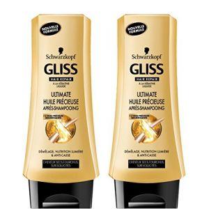 Schwarzkopf Gliss Après shampooing Ultimate Huile Précieuse Flacon 200 ml