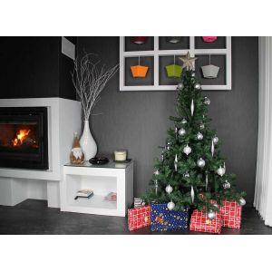 Sapin de Noël artificiel luxe (240 cm)