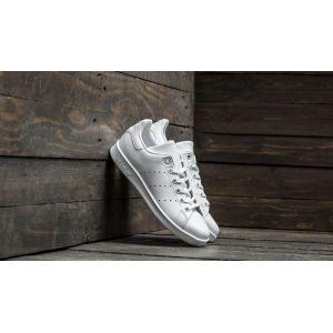 Adidas Stan Smith, Baskets Garçon, Blanc (Footwear White/Footwear White/Footwear White 0), 38 2/3 EU