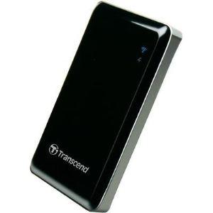 Transcend TS64GSJC10K - Disque SSD externe StoreJet Cloud 64 Go USB 2.0 WiFi