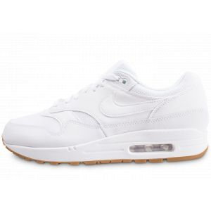 Nike Baskets Chaussure Air Max 1 pour Homme - Blanc - Couleur - Taille 44