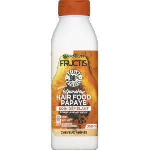 Garnier Fructis - Après-shampoing Hair Food Papaye - Le Flacon de - 350 ml