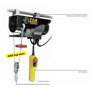 Far Tools EP750 - Palan électrique 750W 400 kgs