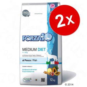 Forza10 Croquettes pour chiens medium Maintenance au poisson