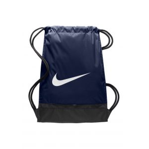 Nike Sac de Sport Brasilia - Bleu Marine/Noir/Blanc