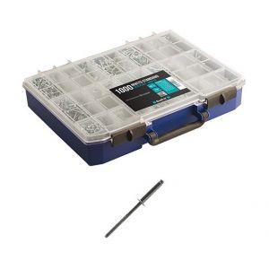 Scell-it Coffret 1000 rivets standard anti-corrosion Inox A2 - Cofrivinox
