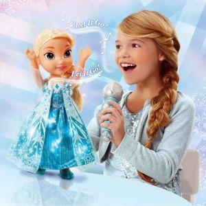 Poupée chante avec Elsa La Reine Des Neiges