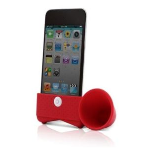 Bone LF10081 Horn Stand - Amplificateur de son pour iPod Touch 4G