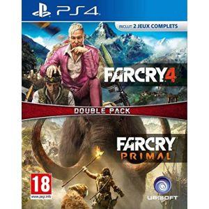 Far Cry 4 + Far Cry Primal sur PS4