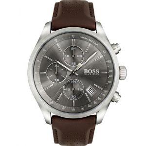 Hugo Boss 1513476 - Montre pour homme avec bracelet en cuir