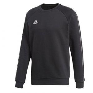 Adidas Sweatshirt Core 18 pour Homme L Noir/Blanc