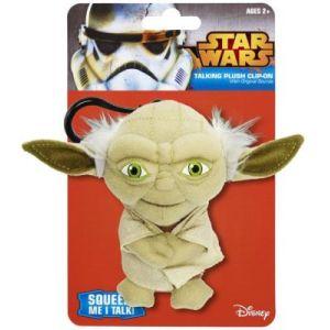 Underground Toys Yoda - Peluche clip-on sonore Star Wars