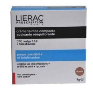 Lierac Prescription - Crème teintée compacte apaisante dorée