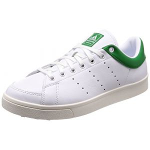 huge selection of fa711 f9fcb Adidas Adicross Classic-Leather, Chaussures de Golf Homme, Blanc  (White Green