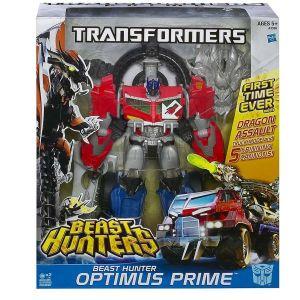 Hasbro Optimus Prime - Transformers Prime Beast Hunter série Voyager
