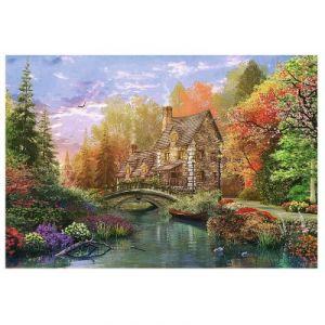 Trefl Puzzle Dominic Davison Cottage by the Lake 1500 pièces