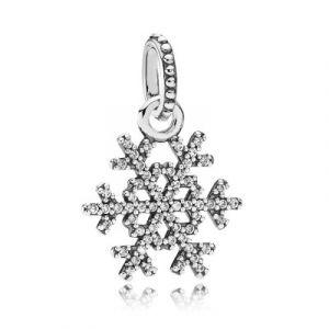 Pandora Charm Symboles390354CZ - Charm Flocon de Neige