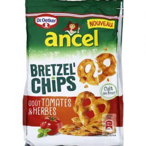 Ancel Bretzel chips tomate herbes - Le paquet de 100g