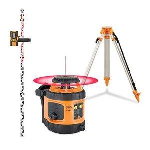 Geo Fennel FL190A - Niveau laser rotatif automatique portée 400m autonomie 20h