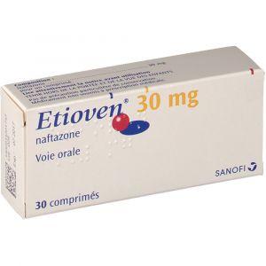 Sanofi Etioven 30 mg - 30 Comprimés