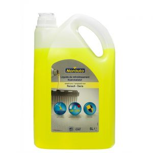 Norauto Liquide de refroidissement jaune -25°C 5 L
