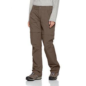 The North Face Pantalon W Horizon Convertible Plus Marron Marron Weimar 6 (Regular)