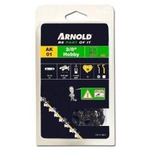 """Arnold Chaîne 3/8"""" LP, 1,3mm, 52 Entr., avec element de securité, demi rond - 1191-X1-0014"""