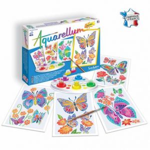 Sentosphère Aquarellum junior : Papillons et Fleurs