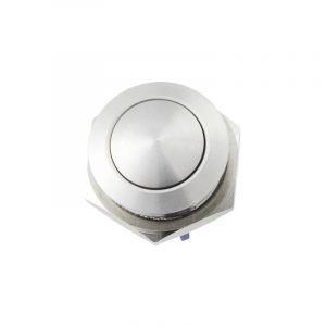 Heidemann Bouton de sonnette 1 prise 70522 acier inoxydable 48 V AC/2 A