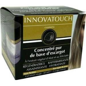 Innovatouch Concentré Pur de Bave d Escargot Gel Sérum Visage 60ml