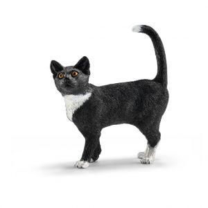 Figurine Chat debout Série Animaux de la Ferme 5,5x2x6 cm