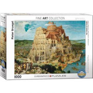 Eurographics Puzzle Pieter Bruegel Tour de Babel 1000 pièces