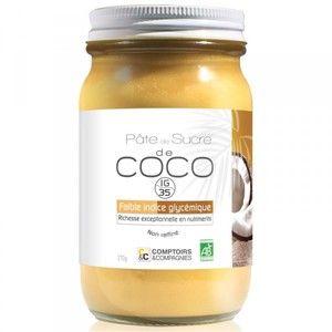 Comptoirs et Compagnies Pâte de sucre de Coco Bio 270g
