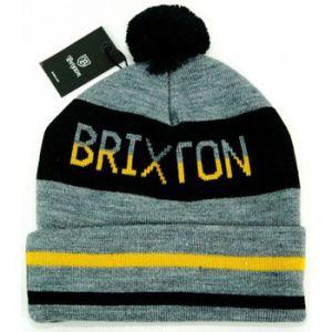 Brixton Bonnet Fairmont Gris Noir Jaune Made in Usa