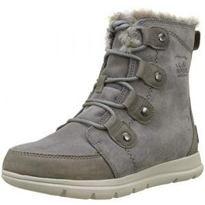 Sorel Explorer Joan W chaussures d'hiver quarry/black 36,0 EU