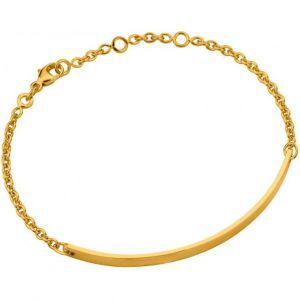 Altesse bijoux 70272680100 - Bracelet Chaîne Plaqué Or Femme