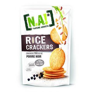 N.a! Rice Crackers Poivre Noir 70 g