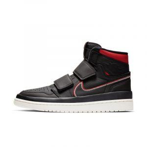 Nike Chaussure Air Jordan 1 Retro High Double Strap pour Homme Noir Couleur Noir Taille 48.5