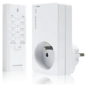 Thomson 500117 - Prise avec variateur d'intensité et télécommande
