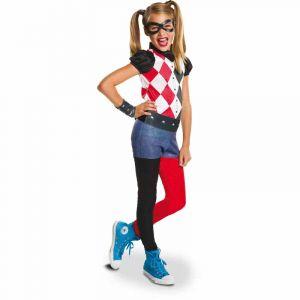 Rubie's Déguisement Harley Quinn - DC Super Héros Girls : 7/8 ans