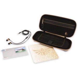 PowerA Kit de Protection Zelda Switch Noir/Doré