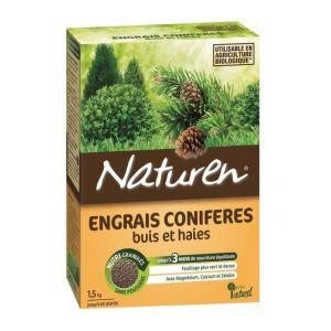 Naturen Engrais fertilisant buis conifères haies granules 1,5 kg