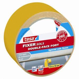Tesa Adhésif double face pour sols FIXER fort 10m