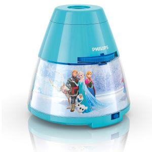 Philips 71769/08/16 - Veilleuse projecteur Reine des neiges Disney