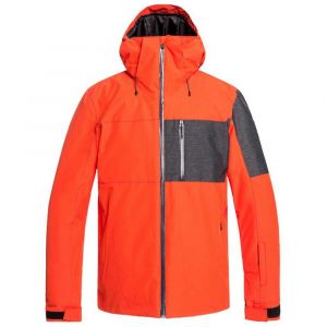 Quiksilver Mission Plus Jacket Poinciana Vestes ski Homme