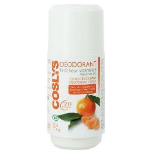 Coslys Déodorant fraîcheur vitaminée Agrumes